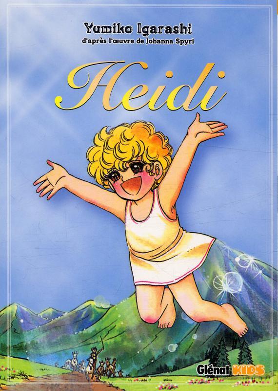 Heidi, manga chez Glénat de Spyri, Igarashi