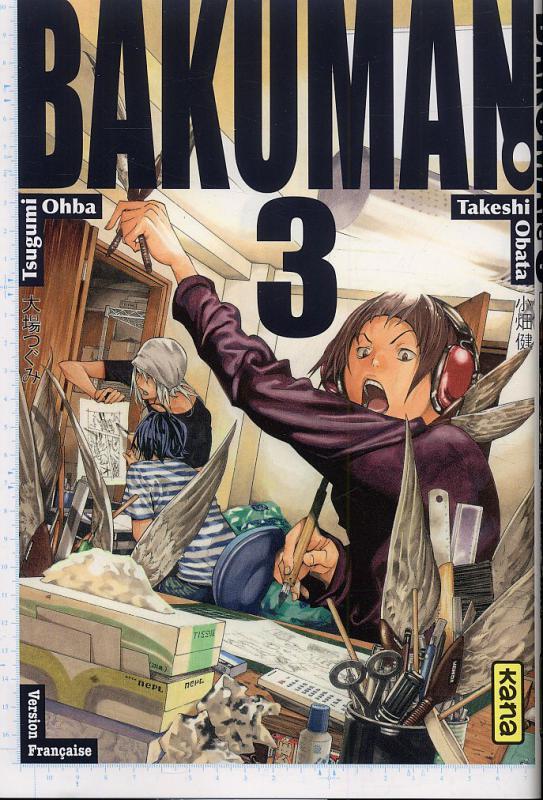 Bakuman T3, manga chez Kana de Ohba, Obata