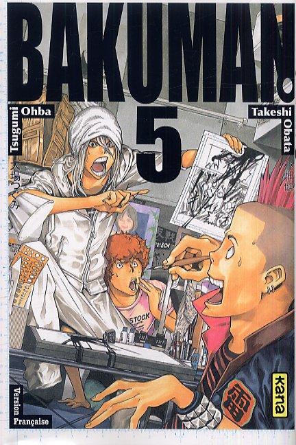 Bakuman T5, manga chez Kana de Ohba, Obata