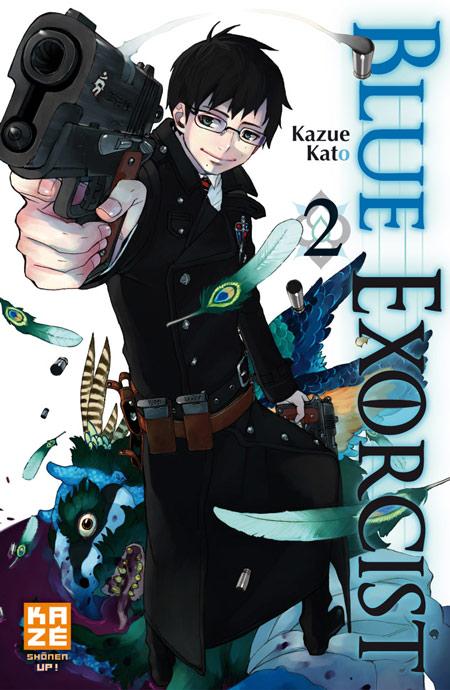 Blue exorcist T2, manga chez Kazé manga de Kato