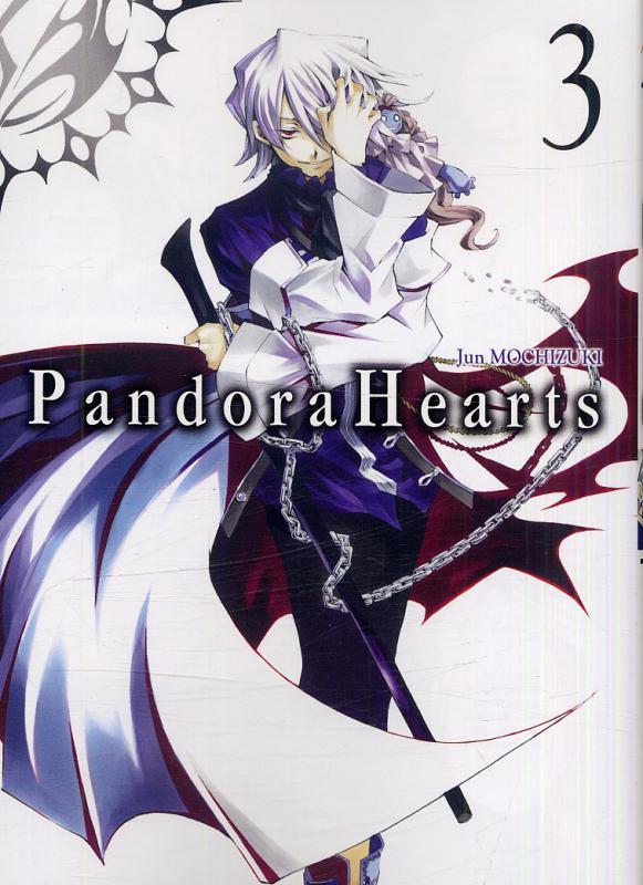 Pandora Hearts T3, manga chez Ki-oon de Mochizuki