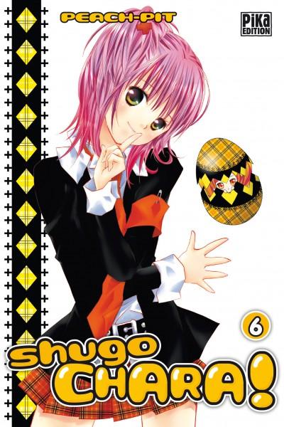 Shugo chara – Edition simple, T6, manga chez Pika de Peach-Pit