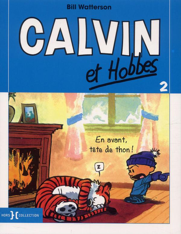 Calvin et Hobbes – Petit format, T2 : En avant, tête de thon ! (0), comics chez Hors Collection de Watterson