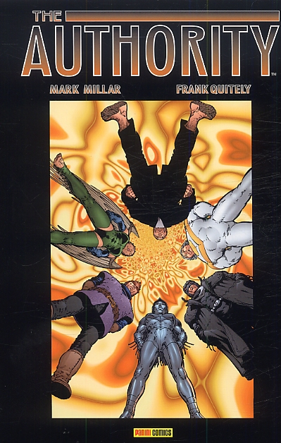 The Authority (ancienne édition) – cycle 1, T2, comics chez Panini Comics de Millar, Adams, Weston, Quitely, Baron