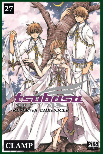 Tsubasa RESERVoir CHRoNiCLE – Première édition, T27, manga chez Pika de Clamp