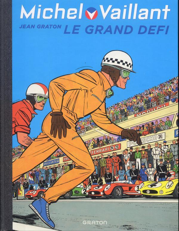 Michel Vaillant T1 : Le grand défi (0), bd chez Dupuis de Graton