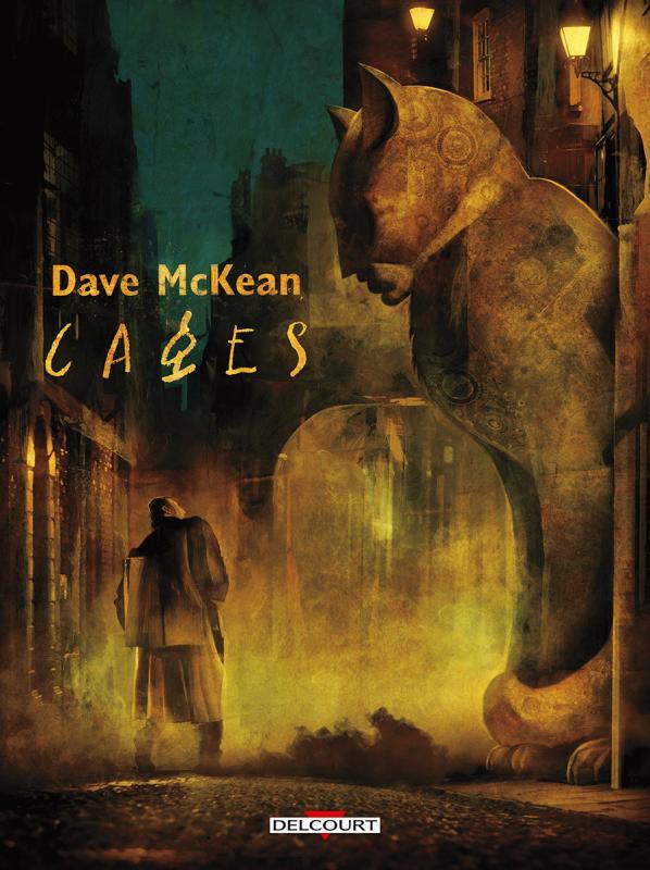 Cages, comics chez Delcourt de McKean