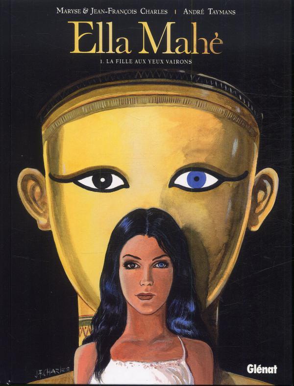 Ella Mahé T1 : La fille aux yeux vairons (0), bd chez Glénat de Charles, Charles, Taymans, Wesel