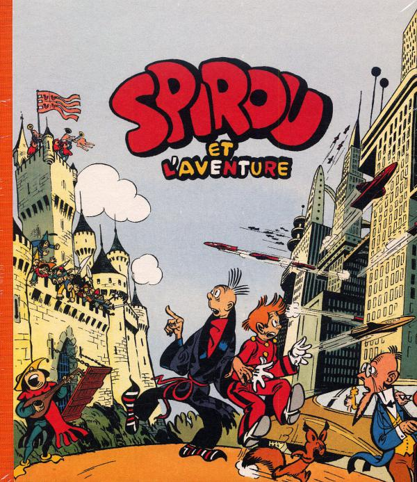 Spirou et Fantasio : Spirou et l'aventure (0), bd chez Dupuis de Jijé