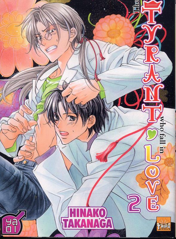 The tyrant who fall in love T2, manga chez Taïfu comics de Takanaga