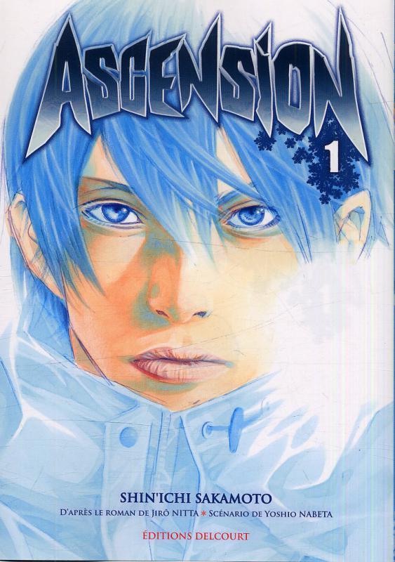 Ascension T1, manga chez Delcourt de Nabeta, Nitta, Sakamoto