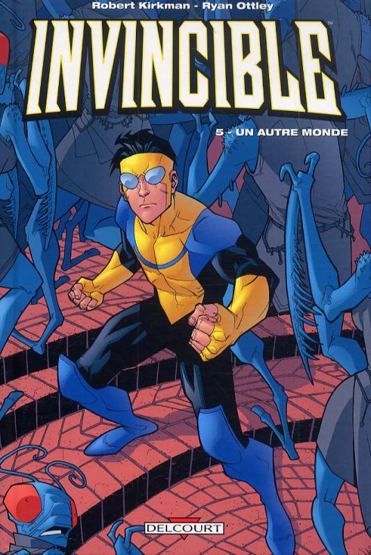 Invincible T5 : Un autre monde (0), comics chez Delcourt de Kirkman, Ottley, Crabtree