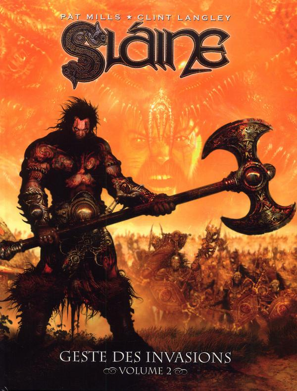 Slaine - Geste des invasions T2, comics chez Nickel de Mills, Langley