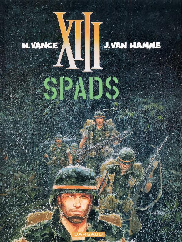 XIII T4 : SPADS (0), bd chez Dargaud de Van Hamme, Vance, Petra