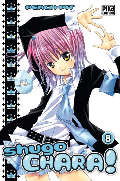 Shugo chara – Edition simple, T8, manga chez Pika de Peach-Pit