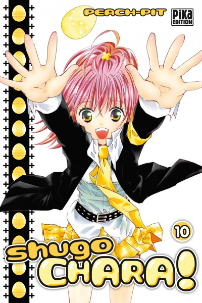 Shugo chara – Edition simple, T10, manga chez Pika de Peach-Pit