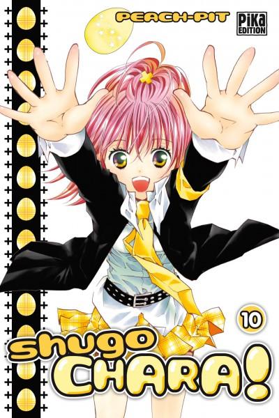 Shugo chara – Edition simple, T10, manga chez Pika de Peach-Pit