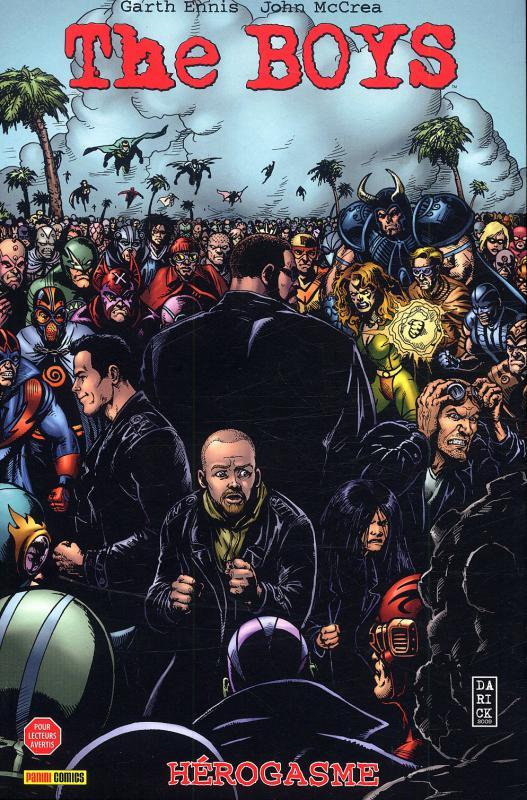 The Boys – édition souple, T8 : Hérogasme (0), comics chez Panini Comics de Ennis, McCrea, Robertson
