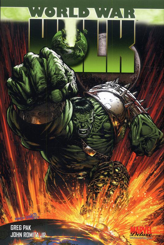 World War Hulk, comics chez Panini Comics de David, Pak, Romita Jr, Weeks, Rio, Phillips, Sandoval, Strain, Murai, Staples, Finch