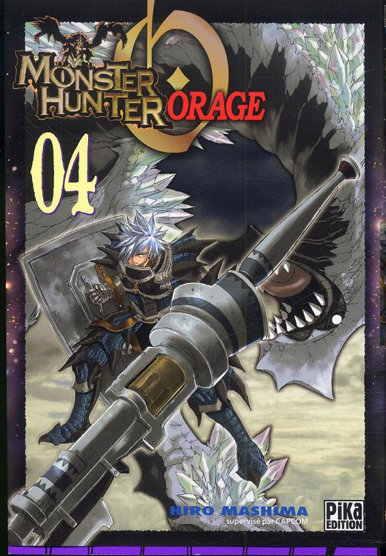 Monster Hunter orage – 1ère édition, T4, manga chez Pika de Mashima
