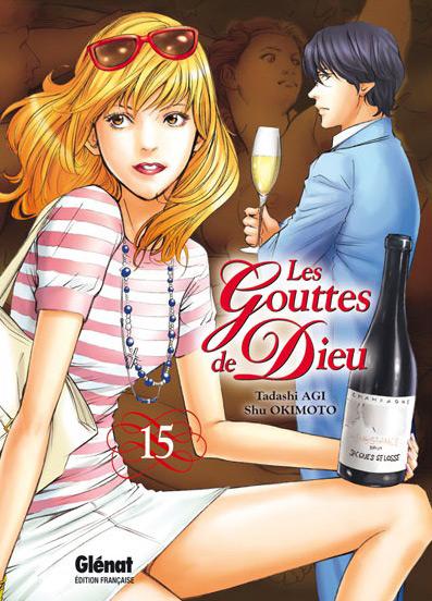 Les gouttes de Dieu T15, manga chez Glénat de Agi, Okimoto