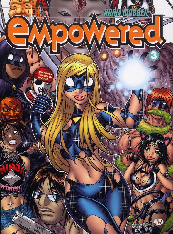 Empowered T3, comics chez Milady Graphics de Warren