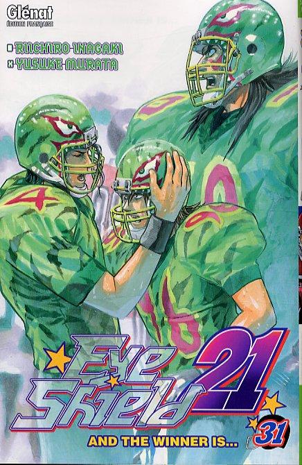 Eye Shield 21 T31 : And the winner is... (0), manga chez Glénat de Inagaki, Murata