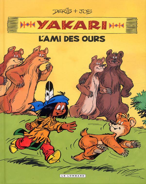 Yakari T3 : L'ami des ours (1), bd chez Le Lombard de Job, Derib, Dominique