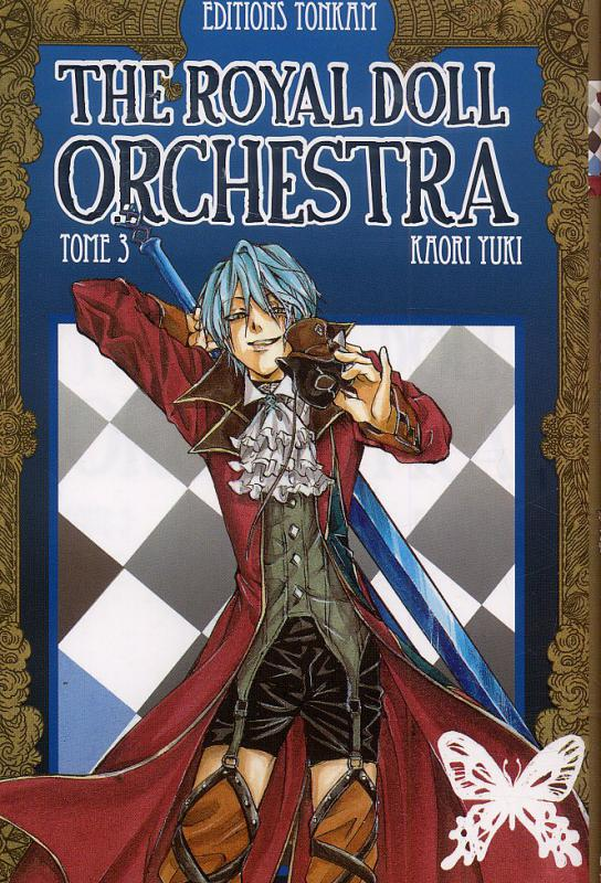 The royal doll orchestra T3, manga chez Tonkam de Yuki