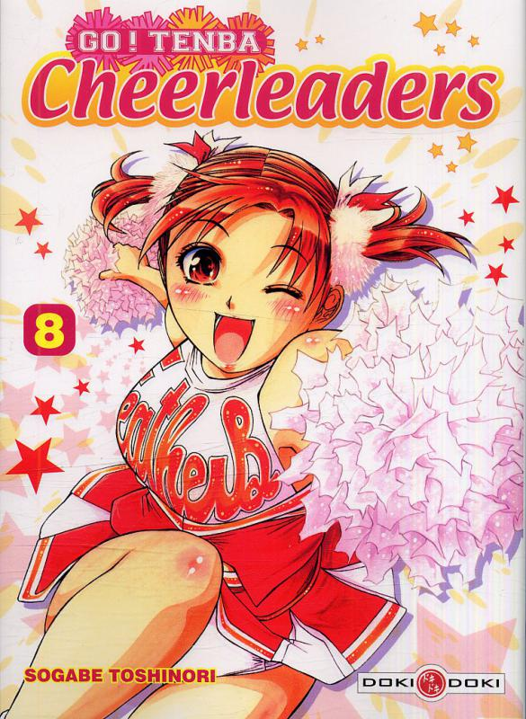 Go ! Tenba Cheerleaders T8, manga chez Bamboo de Sogabe