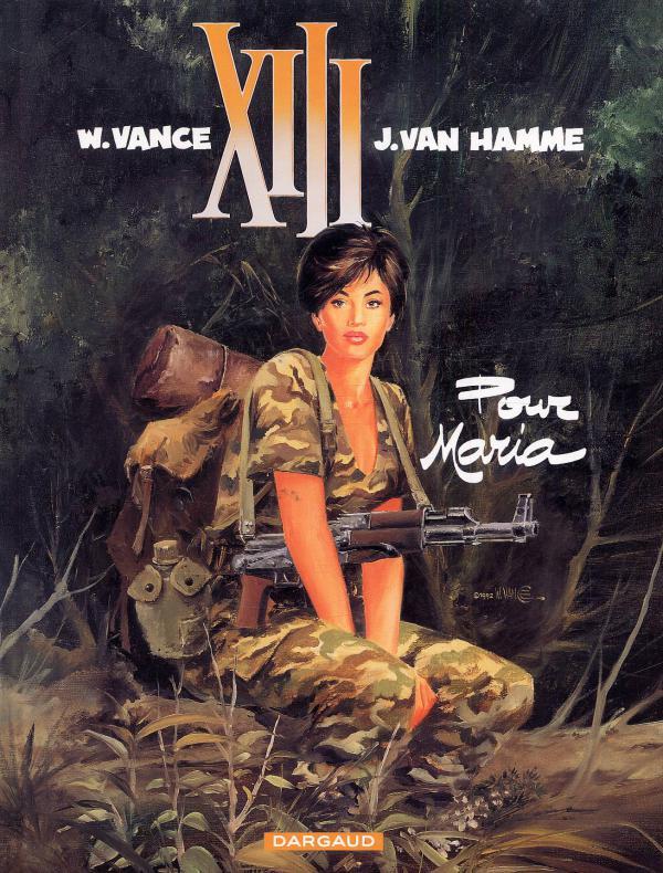 XIII T9 : Pour Maria (0), bd chez Dargaud de Van Hamme, Vance, Petra