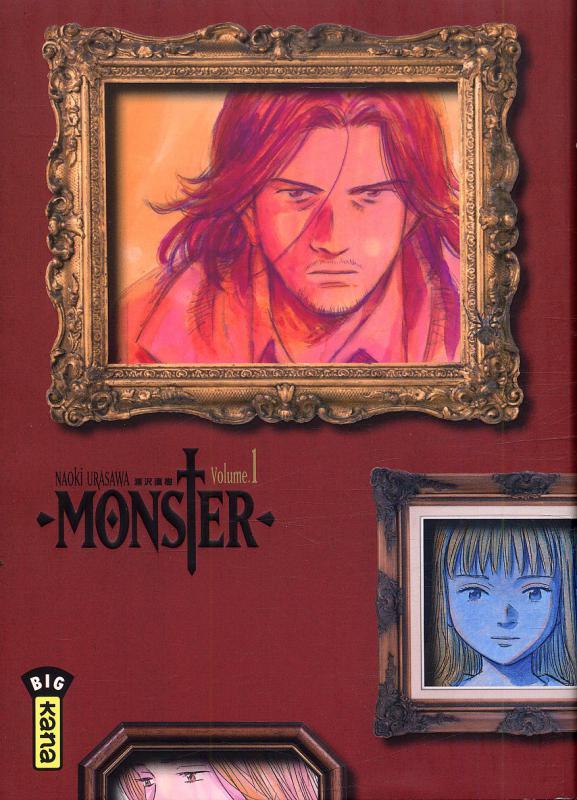 Monster - Edition deluxe T1, manga chez Kana de Urasawa