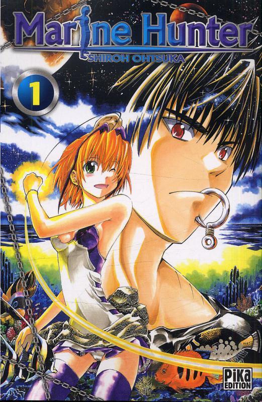 Marine hunter T1, manga chez Pika de Ohtsuka