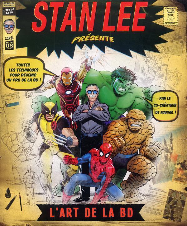 L'art de la BD, comics chez Soleil de Lee, Collectif, Romita Jr