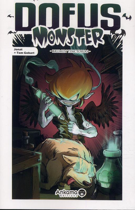 Dofus Monster T6, manga chez Ankama de Gobart, Jonat