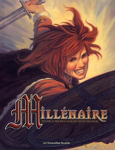 Millénaire, bd chez Les Humanoïdes Associés de Nolane, Miville-Deschênes, Lim, Protobunker, Alquier