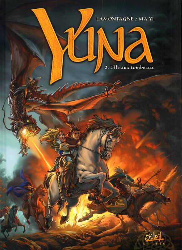 Yuna T3 : L'Ombre de la Tarasque (0), bd chez Soleil de Lamontagne, Ma yi