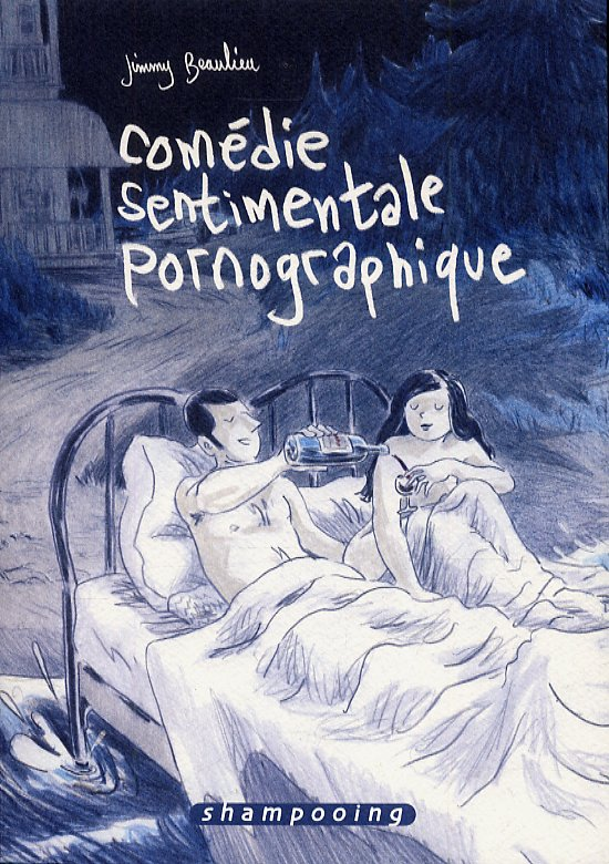 Comédie sentimentale pornographique, bd chez Delcourt de Beaulieu