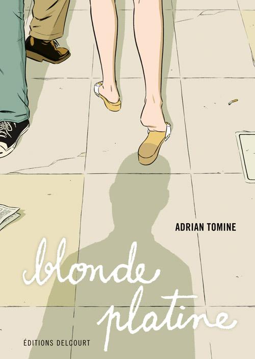 Blonde platine, comics chez Delcourt de Tomine