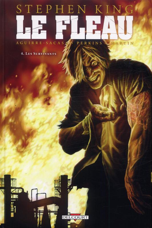 Le fléau T4 : Les survivants (0), comics chez Delcourt de King, Aguirre-Sacasa, Perkins, Martin, Bermejo