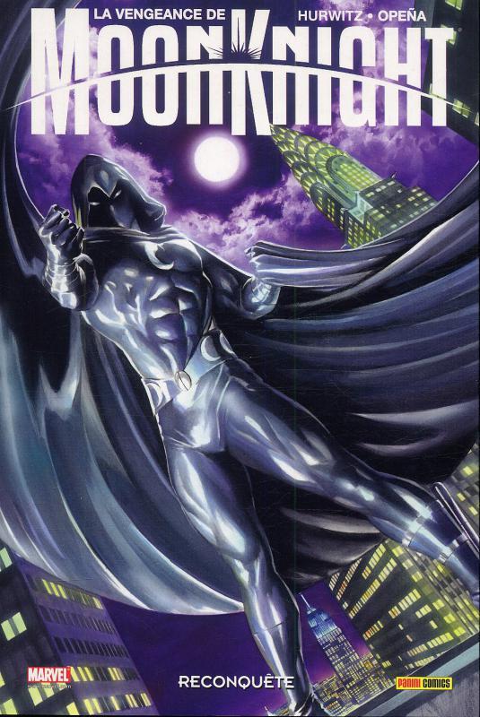 La Vengeance de Moon Knight T1 : Reconquête (0), comics chez Panini Comics de Hurwitz, Opeña, Mounts, Brown