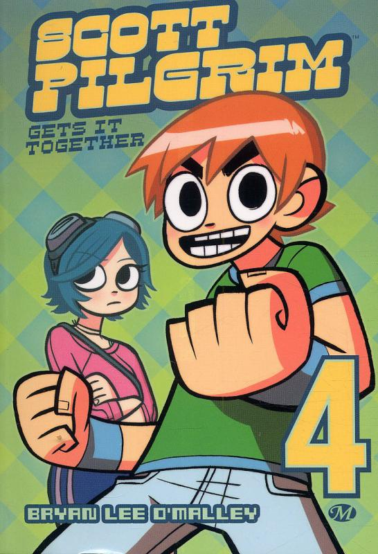 Scott Pilgrim – 1ère édition - N&B, T4 : Gets it together (0), comics chez Milady Graphics de O'Malley