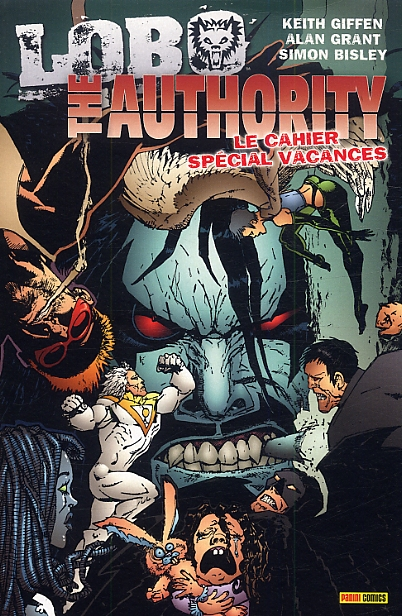 The Authority - Lobo : Le cahier spécial vacances (0), comics chez Panini Comics de Peyer, Pfeifer, Grant, Giffen, Iwahashi, Bisley, Nord, Kindzierski, Baron, Mettler, Stewart, Brasted