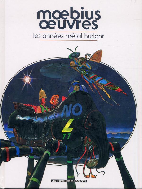 Moebius oeuvres : Les années Métal Hurlant (1), bd chez Les Humanoïdes Associés de Moebius