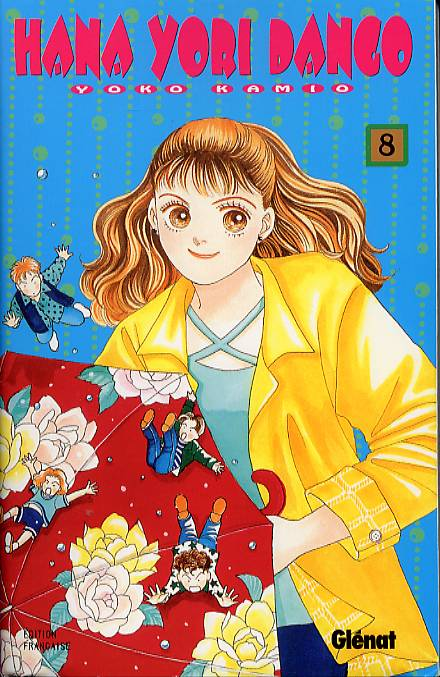 Hana Yori Dango T8, manga chez Glénat de Kamio