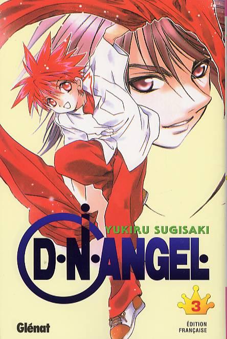 D.N. Angel T3, manga chez Glénat de Sugisaki