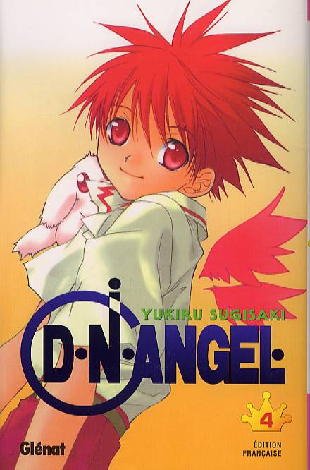 D.N. Angel T4, manga chez Glénat de Sugisaki
