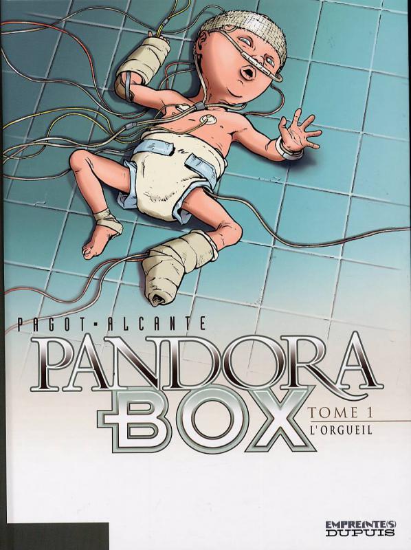 Pandora Box T1 : L'orgueil (0), bd chez Dupuis de Alcante, Pagot, Araldi