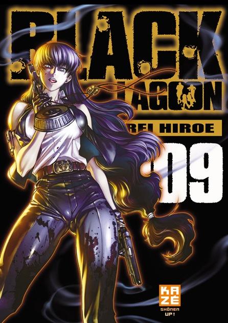 Black lagoon - Nouvelle édition T9, manga chez Kazé manga de Hiroe
