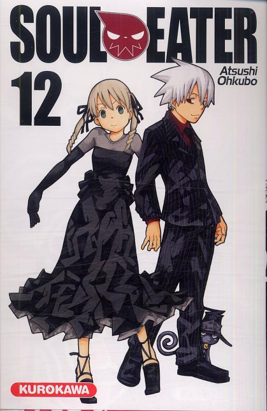 Soul eater T12, manga chez Kurokawa de Ohkubo